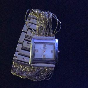 NY & Co goldtone watch